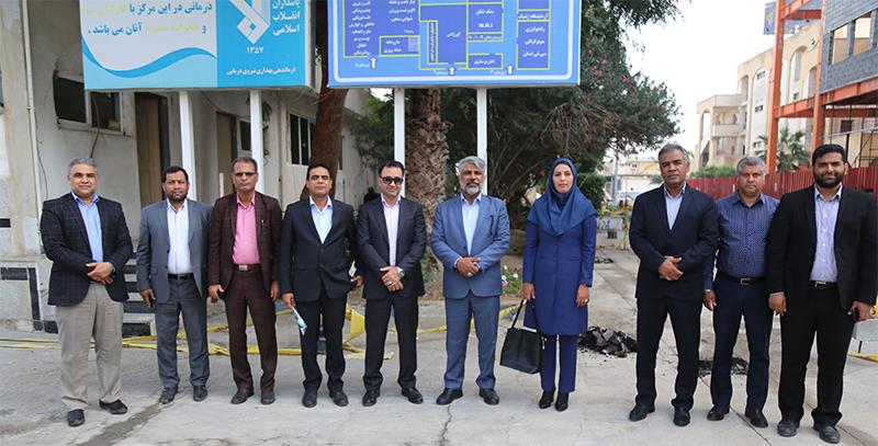 تبریک روز پرستار با حضور شهردار در بیمارستان صاحب الزمان در منطقه 3 شهرداری